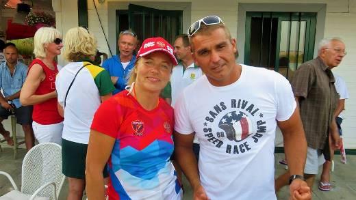 Ольга Губаренко и Геннадий Гуралия. Фото из ФБ