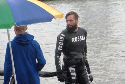 Чемпион России Игорь Морозов. Фото автора