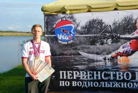 Трижды чемпион России до 17 лет Григорий Суслов. Фото Олега Суслова