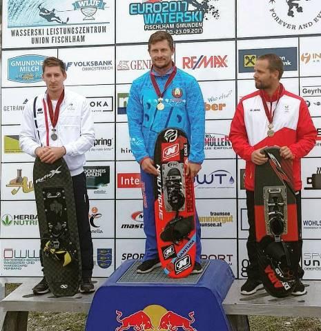 Алексей Жерносек - чемпион Европы 2017. Фото из ФБ