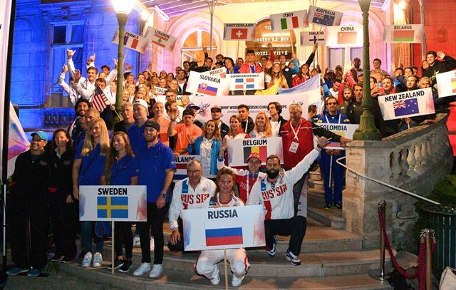 На параде открытия чемпионата мира 2017. Фото Des Burke-Kennedy