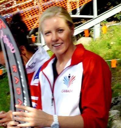 Вице-чемпионка мира 2917 Уитни Макклинток. Фото автора