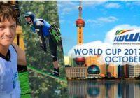 Мировой рекордсмен Никита Папакуль на плакате IWWF