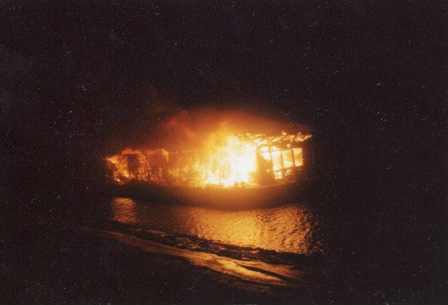 Пожар на воднолыжной базе в Дубне в ночь с 31 марта на 1 апреля, который унес жизнь заслуженного тренера СССР и России Валерия Нехаевского