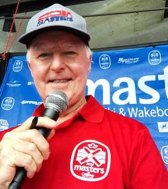 Des Burke-Kennedy на 59-м Masters. Фото из ФБ
