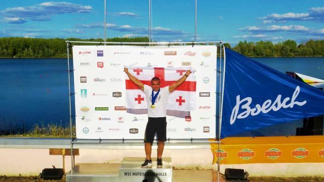 Геннадий Гуралия - трижды чемпион Европы 45+. Фото из ФБ спортсмена