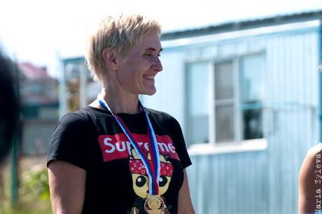 Ольга Кашицина в 43-й раз завоевала звание чемпионки России - абсолютный рекорд! Фото Марии Зылёвой