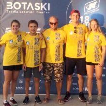 Эта команда войдет в историю украинского воднорлыжного спорта - первые мировые медали в командном зачете! Фото из ФБ Софии Максименковой